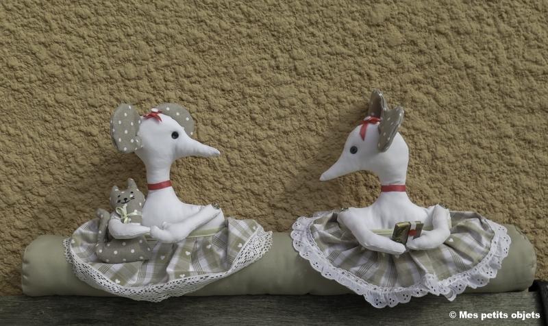 """N° 1 : Boudin de porte """"Les sœurs jumelles"""""""