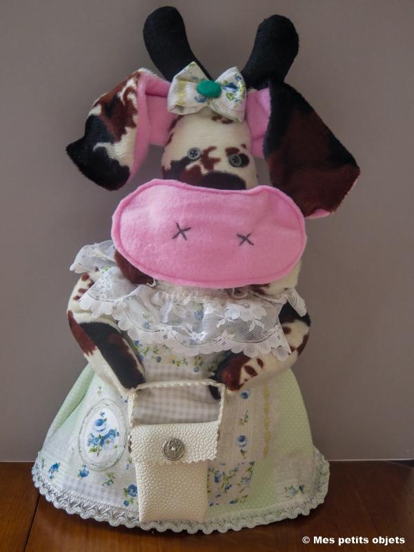 """N° 4 : Cale-porte """"La vache Marguerite"""""""