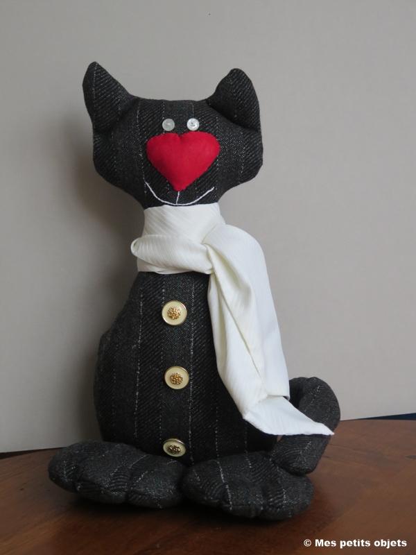 """N° 14 : Cale-porte """"Chat Figaro"""""""