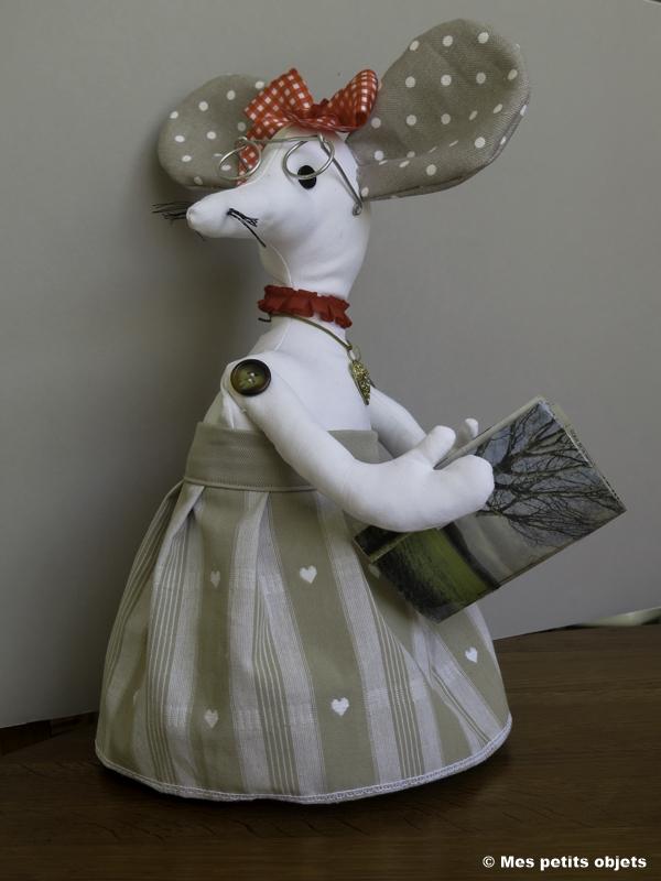 "N° 29 : Cale-porte ""Minnie la souris"""