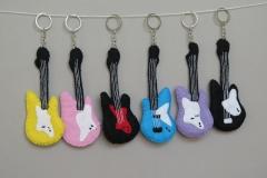 "N° 9 : Porte-clefs ""Guitares 1"""