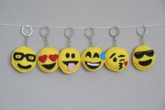 "N° 15 : Porte-clefs ""Smileys"""