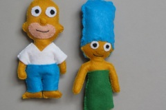 """N° 18 : Porte-clefs """"Les Simpsons"""""""