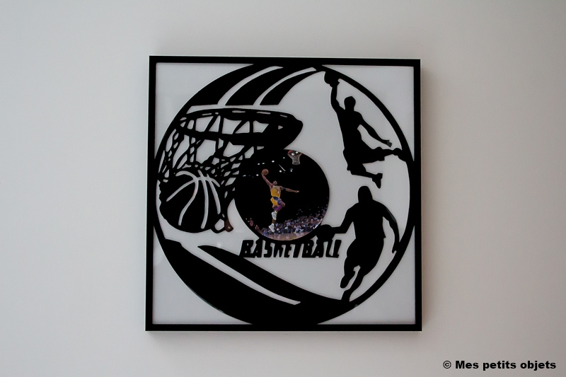 Basket sous cadre 30 x30