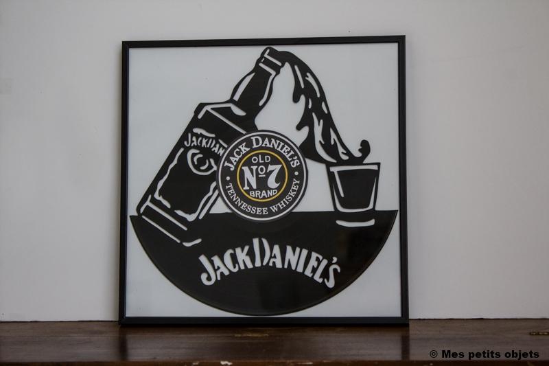 Jack Daniel's sous cadre 30x30